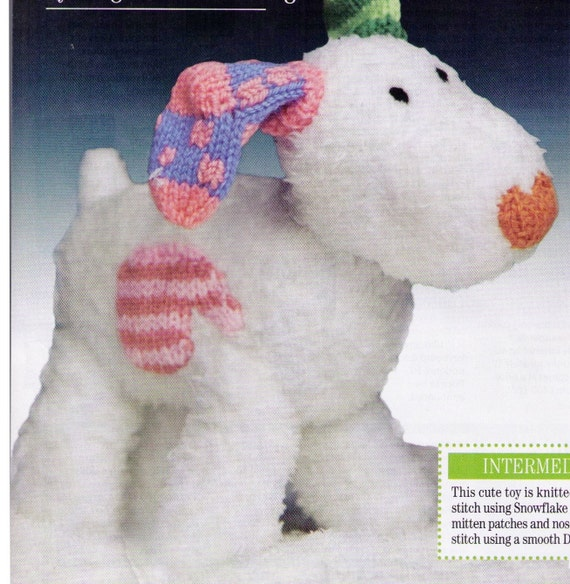 Snow Dog Knitting Pattern Free Download : From The Tv SHoW comes ThE SNoW MaNS SNoW Dog