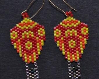 Colorful Hot Air Ballon Earrings