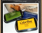 JLMould Color Box Pigment Stamp Ink Pad - You Choose the Color