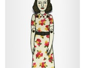 personalized paper doll(s), custom-made to look like you