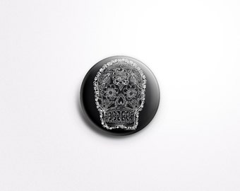 """DAY of The DEAD Magnet or Pinback Button 1"""""""