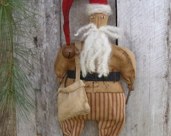 My Primitive PINELANE NICHOLAS Santa Pattern-Instant Download