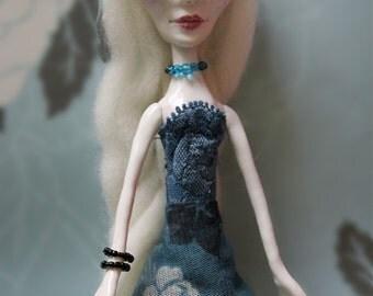 Yasmine - Ooak art doll