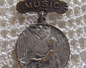 Vintage Brooch Music Award for Piano