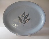 Homer Laughlin Skytone Blue Platter from the Fifties