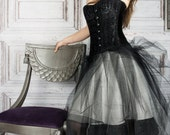 XS-SM 1880s corset pdf sewing pattern and instructions for historic corset,  size 0-2-4-6, Extra Small / Small / Euro 30-32-34-36