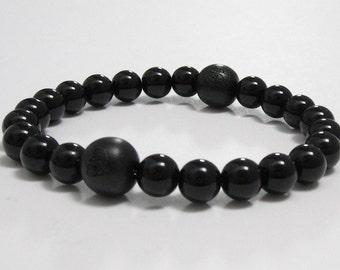 Mens Beaded Bracelet, Mala Beads Sandalwood Buddhist Wood Bracelet Lotus Yoga Bracelet, Retirement Father Day Gift Under 30, Festival Style