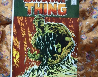 Swamp Thing No 9 DC Comics 1974 Comic Book Very Fine Or Better Bernie Wrightson Art Horror SciFi Stalker From Beyond