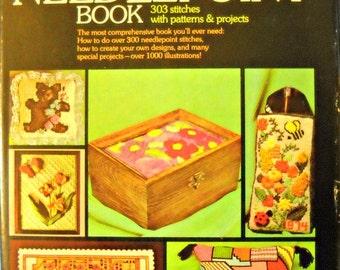 The Needlepoint Book, by Jo Ippolito Christensen, vintage 1976