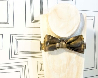 Turner watercolor mist freestyle batwing bow tie, Valentine's bowtie
