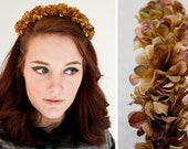 Fall Flower Crowns : Autumn Flower Headband