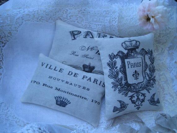 French Wedding Gifts: Vintage Paris Gift Bundle Set Of 3 Lavender By TheJoyfulHome