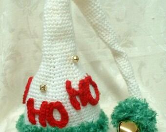 HO HO HO Hat Pattern- crochet