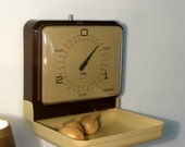Vintage Kitchen Scale SOEHNLE Cream and Brown color