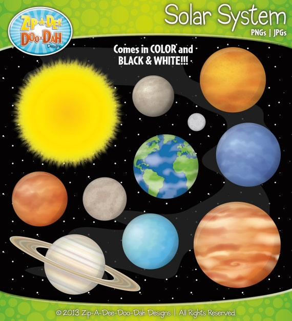 the colors of the planets in solar system - photo #10