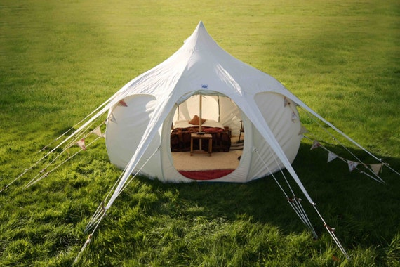 13ft Lotus Belle, beautiful handmade glamping tents, yurt, tipi, teepee, burning man