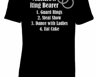 Personalized Ring Bearer T-Shirt