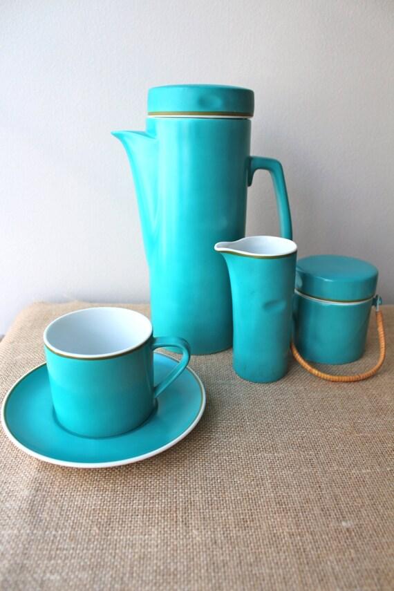 Retro Coffee Set Fine Porcelain Kelco Japan Coffee Tea