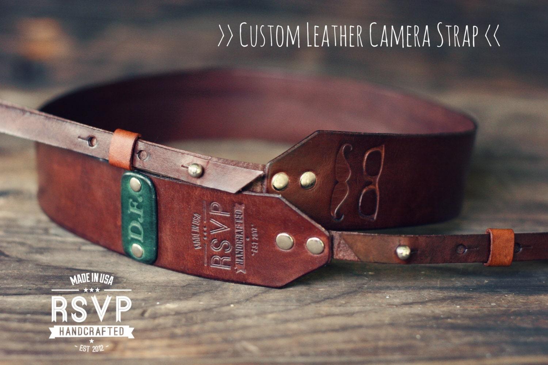 sale 10 off custom leather camera strap handmade