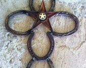 Horseshoe Cross with Star...