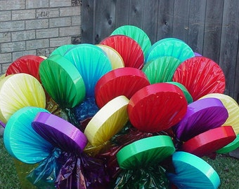 One Lollipop Yard Decorations - For Christmas or Birthday A Must For Candyland or Willie Wonka Parties
