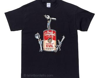 Bruce Campbells Soup Horror T Shirt