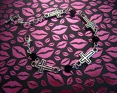 CLEARANCE Inverted Cross Bracelet