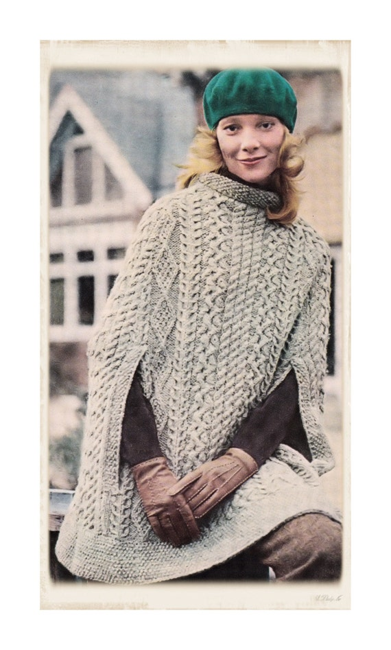 Instant Download PDF Vintage Seventies Knitting by YesterdaysMagic
