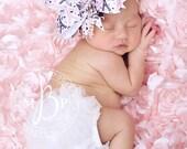 Big Bow, Paris Hair Bow,  Baby Bow, Newborn Bow, Toddler Bow, Hair Bow, Baby Girl Bow, Baby Headband, Toddler Headband, Pink Bow