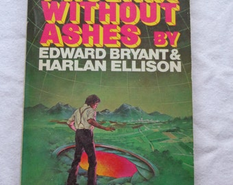 "Vintage Sci-Fi Paperback, ""Phoenix Without Ashes"" by Edward Bryant and Harlan Ellison, First Printing 1975."