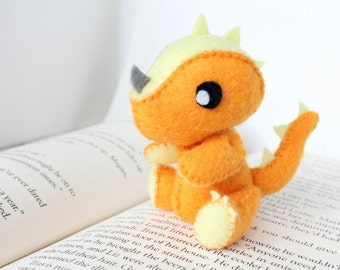 PDF Pattern - Felt Dragon Plush