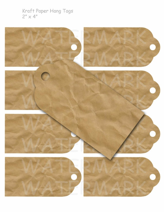 Divine image throughout printable kraft tags