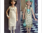 Ellowyne Wilde Dress Sewing Pattern PDF - 1920's Gatsby Style Doll Dresses
