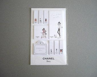 """CHANEL ~ Collectibles Illustrations """"L'air de Paris rend belle"""""""