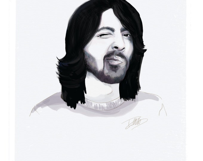 Featured listing image: Dave Grohl - Foo Fighters