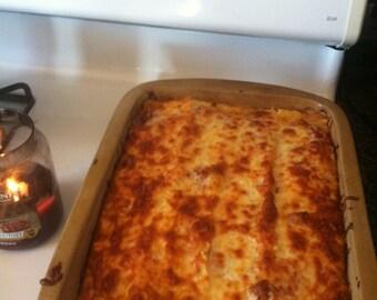 Home made lasagna