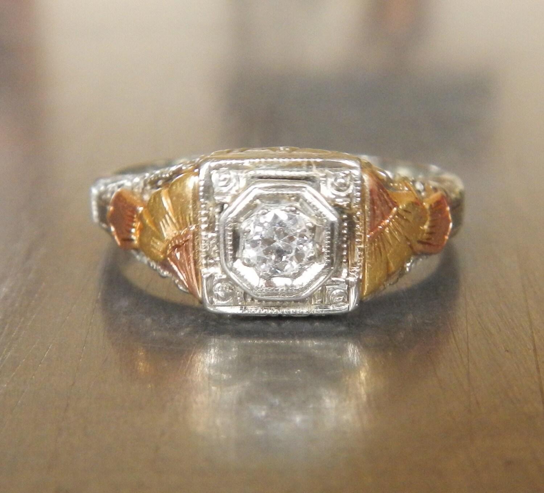 deco engagement ring 1920s engagement ring edwardian