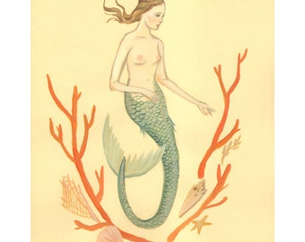 Mermaid 8x10