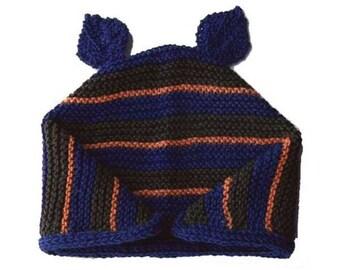 Baby Hat Knitting Pattern Sock Yarn : Waffle Weave Baby Hat Knitting Pattern PDF