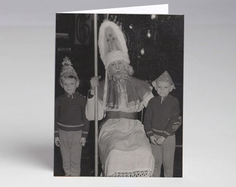 Europe was Creepy Anti Holiday Christmas Cards 8 Pack PreOrder