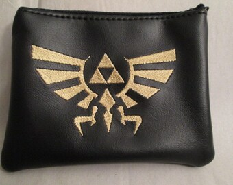 Zelda Tri-force Coin purse/wallet