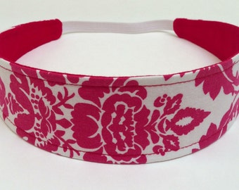 Reversible Fabric  Headband  -  SCARLETT  Headbands for Women
