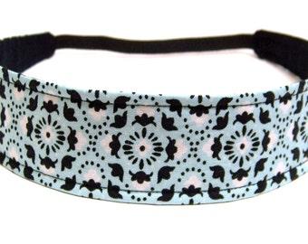 NEW  -  Reversible Fabric Headband   -   COURTNEY -    Headbands for Women
