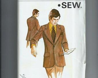 Kwik Sew Men's  Jacket Pattern 462
