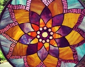Lotus Mosaic Mandala Pattern & Instructions