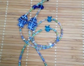 Blue Fish Eyeglass Chain