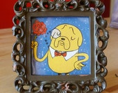Fancy Jake - Adventure Time - in a square frame