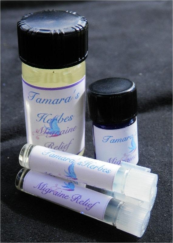 Migraine Relief Essential Oil Blend
