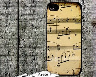 Vintage Sheet Music Phone Case for  iPhone 4 4s 5 5s 5c SE 6 6s 7  6 6s 7 Plus Galaxy s4 s5 s6 s7 Edge
