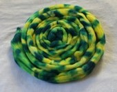 "Corriedale Roving in ""Sunflora"""